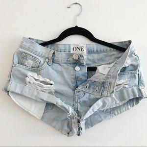 One Teaspoon Shorts - ONE Teaspoon Cut Off Shorts
